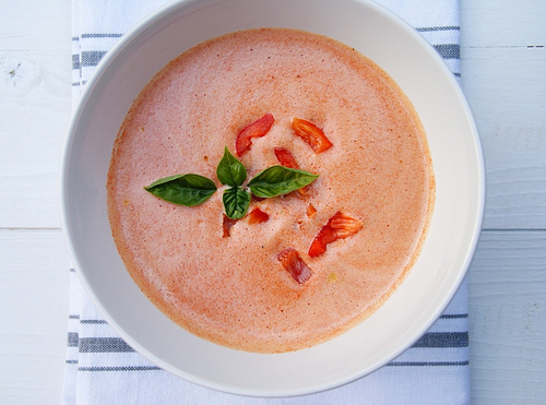 Red Pepper Cold Soup