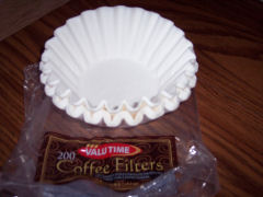 coffee filters by Anna Sattler